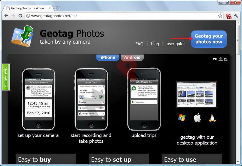 Geotagger ses photos grâce à son smartphone Geotag_01